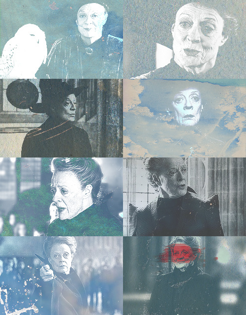 the magic begins [20/30] » Favorite Professor - Minerva McGonagall A tall, black-haired witch in emerald green robes stood there. She had a very stern face and Harry's first thought was that this was not someone to cross.