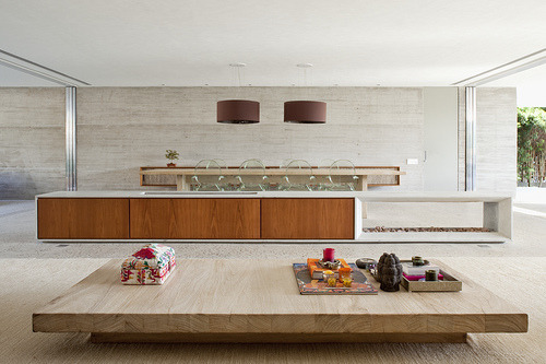 justthedesign: Living Room, Casa Ilhabela By Marcio Kogan
