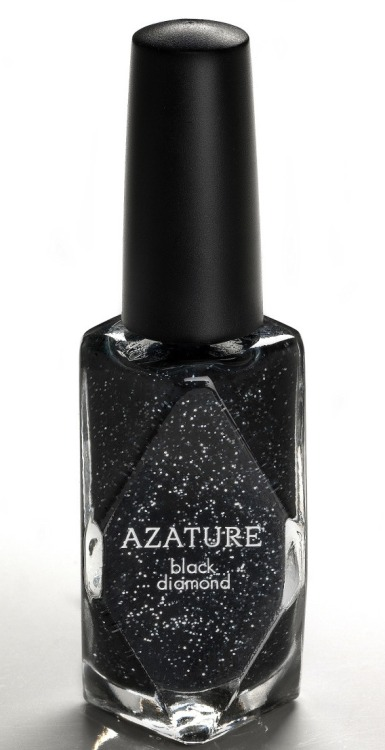 "Jewelry Designer, Azature, Creates $250,000 Black Diamond Nail Polish Diamonds adorn everything from engagement rings to steak knives.  A new $250,000 nail polish from Azature can now let your nails shine just as bright. It's billed as the world's most expensive nail polish.  It contains 267 carats of black diamonds. While it's pricey, the company says it has already received 25 inquiries from interested buyers. ""The black diamond is the ultimate fine jewel. Its combination of beauty, mystery, and sophistication makes it a timeless luxury. One day, I thought, 'Why not showcase this style on nails?'"" said Azature in a statement. Those who don't have $250,000 to spare can purchase the Black Diamond Babes version, available at Fred Segal later this week for $25. ""The nail polish currently has a 576-person waiting list,"" a representative for the brand said. Celebrities Kelly Clarkson, Liv Tyler and Megan Fox have all worn Azature's designs. So, what do you think beauties?  Are you going to get on the list?  After all, diamonds are a girl's best friend! XO, Damone"