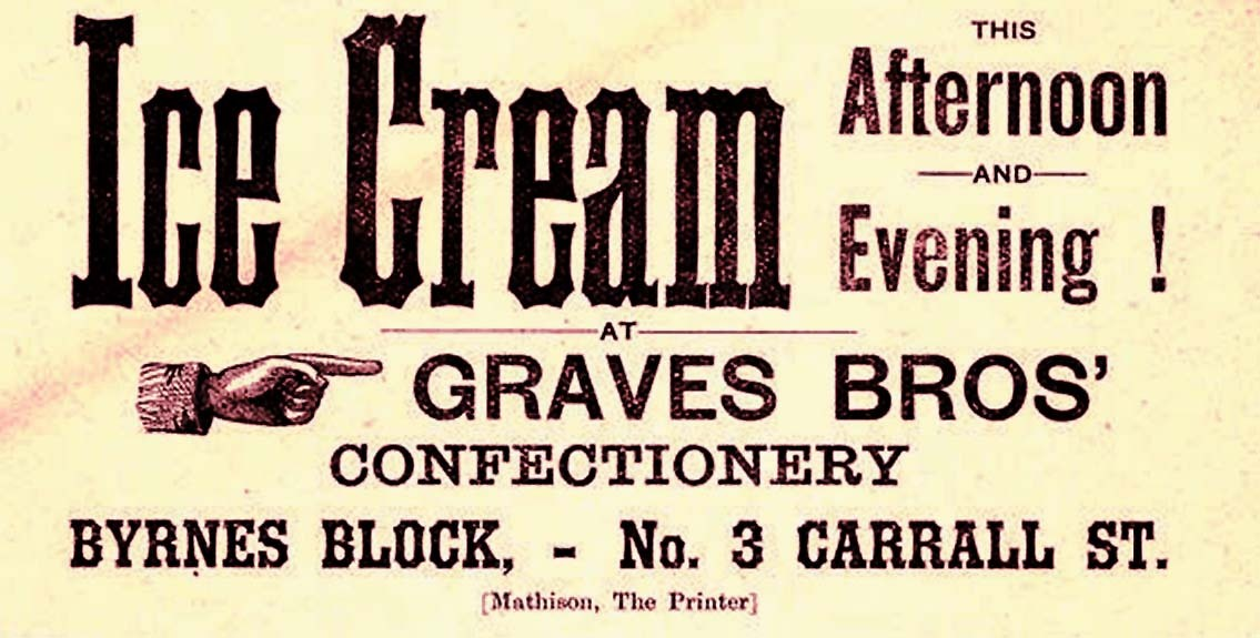 Ice Cream, 1888 Source: R Mathison Collection, UBC Library Digital Collections