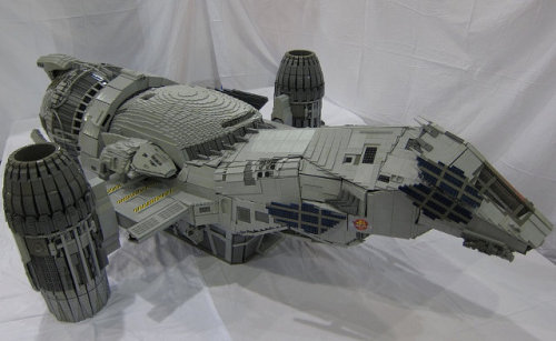 7-foot LEGO replica of Serenity