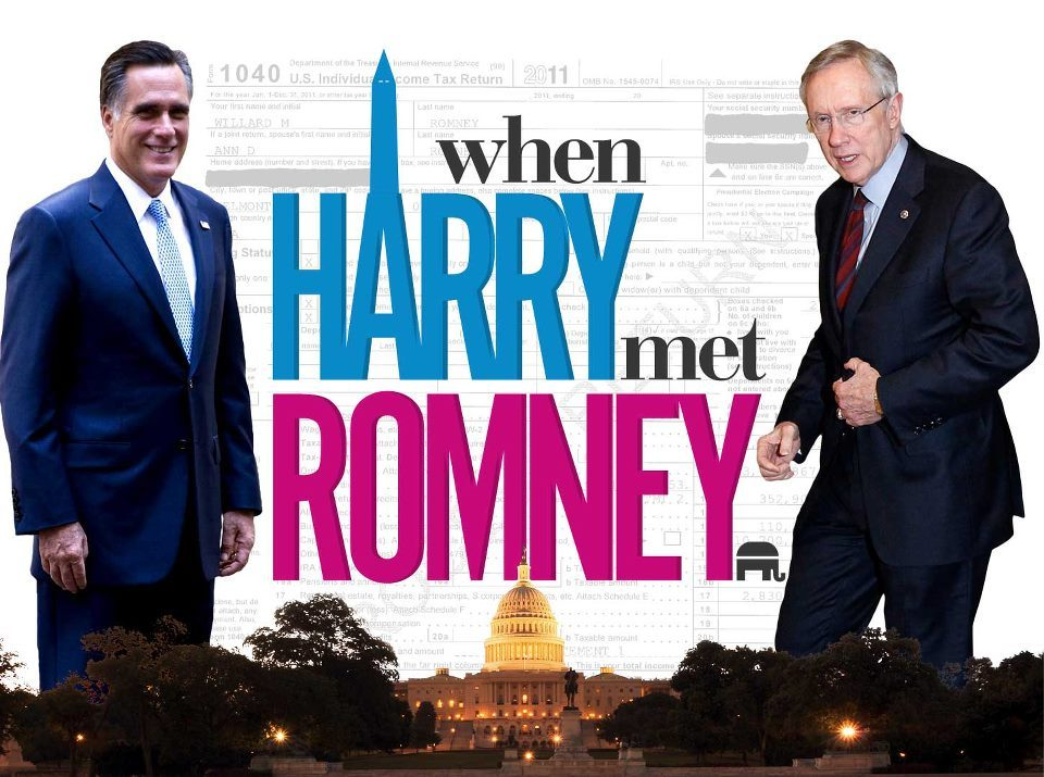 From The Ed Show: When Harry Met Romney - how do you think this political drama will end?