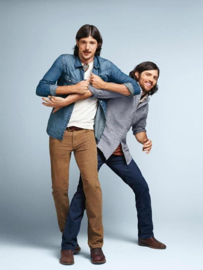 "The Avett Brothers in Gaps' new ""Icon's Redefined"" collection. Perfection."