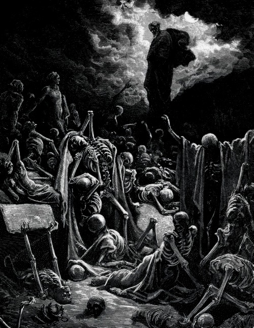 Gustave Doré - The Vision of the Valley of Dry Bones
