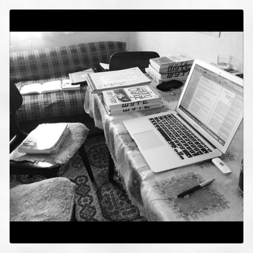 Working on PhD in Lukicevo, Vojvodina (Taken with Instagram)