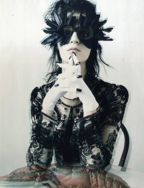 Vogue Italia February 2012. Steven Meisel, of course.