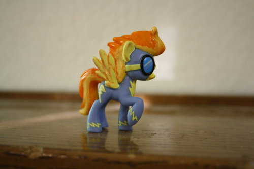 Custom Pony - Spitfire by ~Shareece  Support a kitty! Enter a raffle to win a custom pony from Lilacamy! Contest ends on August 24th.