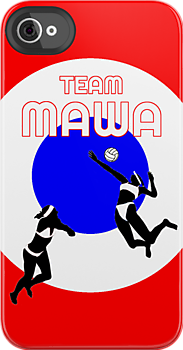 "rjthecunning:  ""Team Mawa"" iPhone & iPod Cases by RJtheCunning 