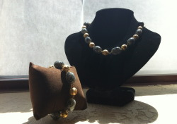 Royalty  Necklace & Bracelet