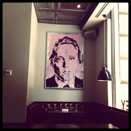 christoper walken #nyc #newyorkcity #irishpub #wallstreet  (Taken with Instagram at The Bailey Pub & Brasserie)