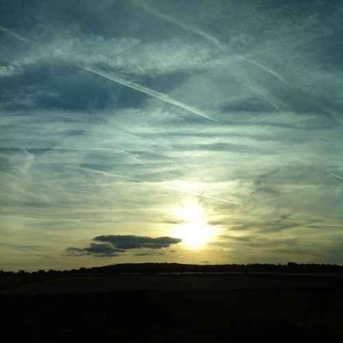 The sky for you #rightnow #noeditnofilter #activite_080812 (Pris avec Instagram à Piscop)