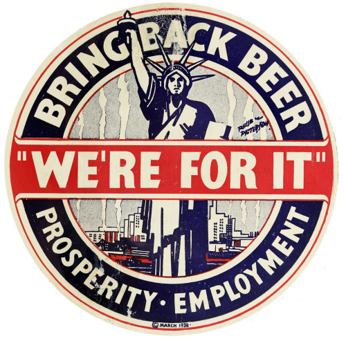 "robotcosmonaut:  ""We're For It"" via nyhistory"