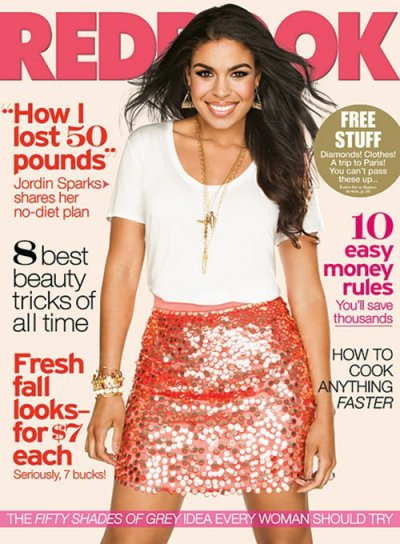 Jordin Sparks  for Redbook Magazine [Sep 2012]