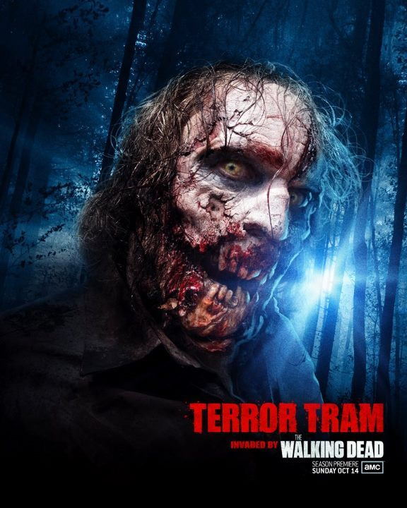 the-walking-dead-amc:  The Walking Dead to Invade this Year's Terror Tram at Halloween Horror Nights It has already been revealed that The Walking Dead will be one of the featured mazes during Universal's Halloween Horror Nights at both the Hollywood and Orlando locations. Now, it has been officially announced that The Walking Dead will be the theme of this year's Terror Tram at Universal Studios Hollywood.  more info here