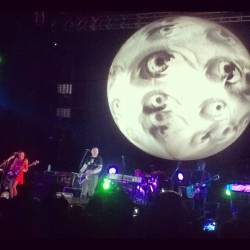Smashing Pumpkins Oceania Tour Manila (Taken with Instagram at SMART Araneta Coliseum)