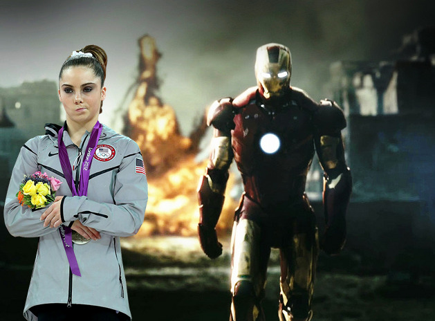 mckaylaisnotimpressed:  McKayla doesn't look at explosions.