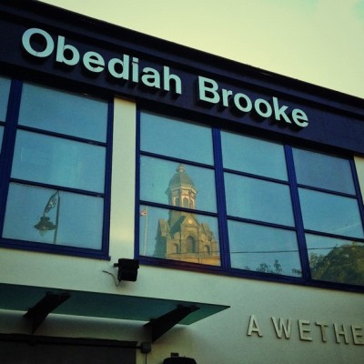 Spooooooonssss #town #hall #obediah #brooke #sunset #reflection  #instagood #instagreat #jj_forums #instagramdaily #instafamous #igers #ipopyou  #iphonesia #webstagram #bestoftheday  #ahahahaCheah #igdaily #tweegram  #instamood #photooftheday #ignation #igaddict #primeshots #instadaily #instagram_underdogs  (Taken with Instagram at The Obediah Brooke  (Wetherspoon))