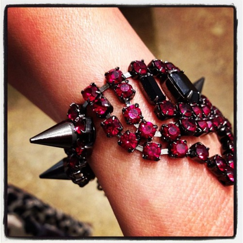 Must-Have for FW12 - Sexy Spike Bracelet  (Taken with Instagram)