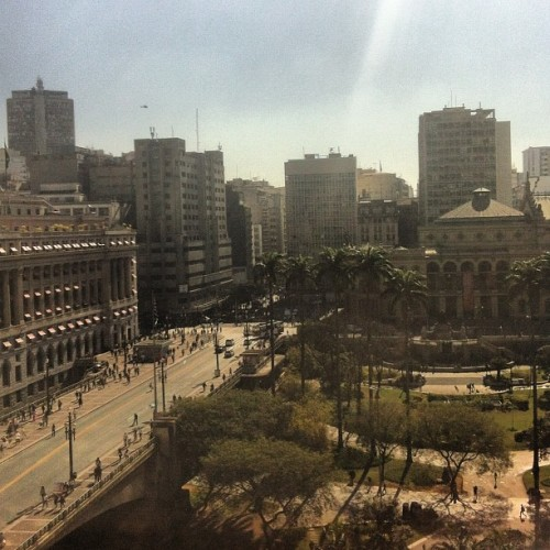 Downtown to you now #downtown #sp  (Publicado com Instagram, no Edificio Conde de Prates)