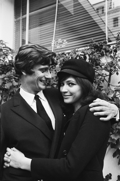 Anna and her second husband Pierre Fabre, 1968.