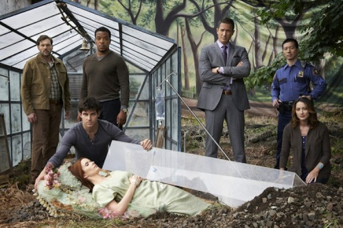 tvfanaticdotcom:  In season 2 of Grimm, Nick comes face to face with the mother he thought lost to him long ago. Reblog if you can't wait for the new season to start.   We can't wait for Monday night!