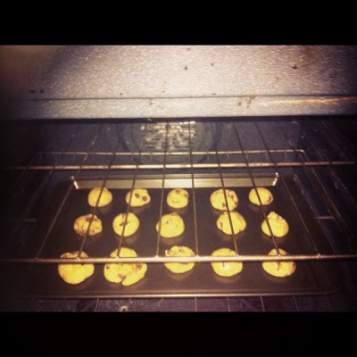 Chocolate chip cookies 😁 #munchies #cookies #chocolatechip #bake #nomnom #yum (Taken with Instagram)