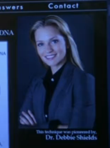 Watching Law & Order: SVU. It's so strange to see A.J. Cook in a different series.