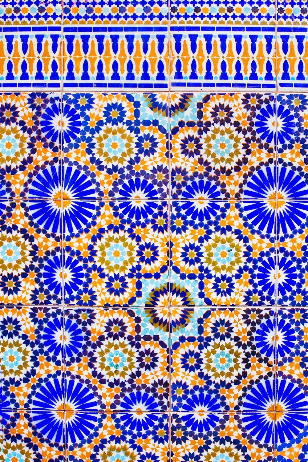Z is for Zellige The art of traditional Moroccan mosaics.