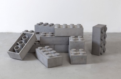 laughingsquid:  Concrete LEGO Blocks by Andrew Lewicki