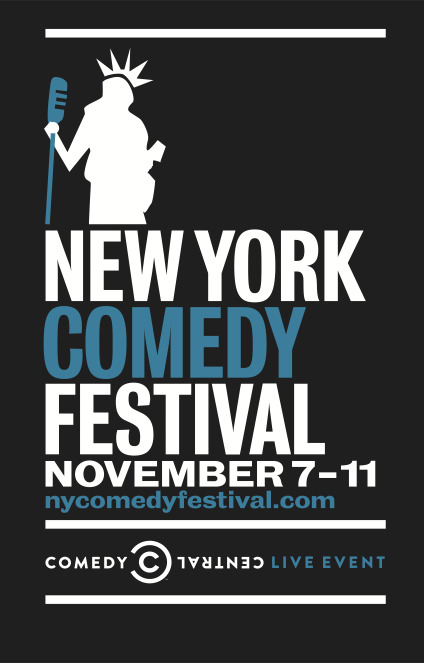 The lineup for this year's New York Comedy Festival has been announced and features Ricky Gervais, Aziz Ansari, Kevin Hart, Patton Oswalt, Robin Williams, Brian Regan, Jim Gaffigan, Shawn & Marlon Wayans, Artie Lange, Bill Maher, Rob Delaney and many others.  Click the image for tickets and a complete schedule.