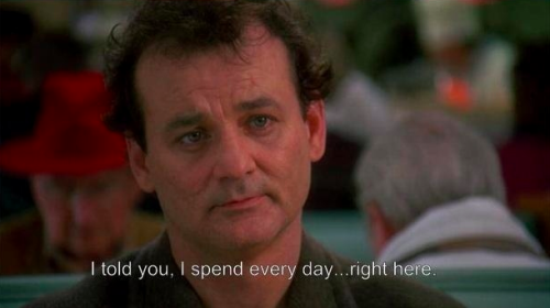 nedhepburn:  Groundhog Day explains the internet.  This is brilliant. Be sure to click through.