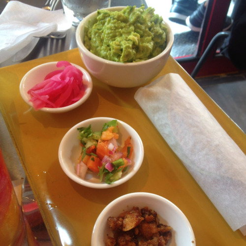 Guacamole and tortillas @ Rocking Horse, NYC.
