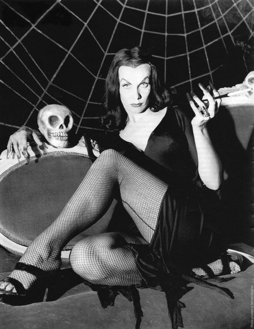 Maila Nurmi as Vampira 1950's
