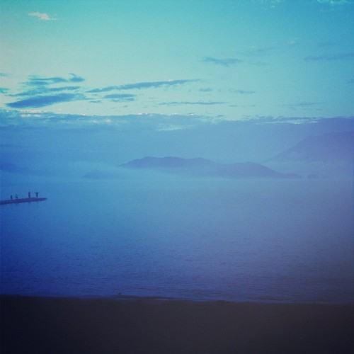 #farawaypeople  (Taken with Instagram at Harrison Lake)