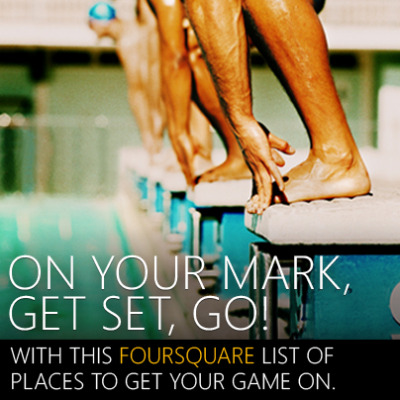 THROWDOWNS AROUND TOWN Want to win more? Play more. Get started with this Foursquare list of unexpected places to go undefeated – and earn that MVP status. SEE THE LIST »