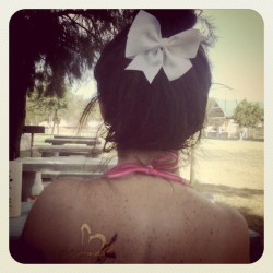 #summer #bow #tatto  (Taken with Instagram)