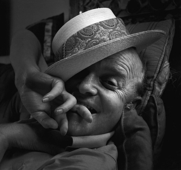 "Arnold Newman     Truman Capote      1977 ""Just remember: If one bird carried every grain of sand, grain by grain, across the ocean, by the time he got them all on the other side, that would only be the beginning of eternity."" Truman Capote, ""In Cold Blood"" 1966"