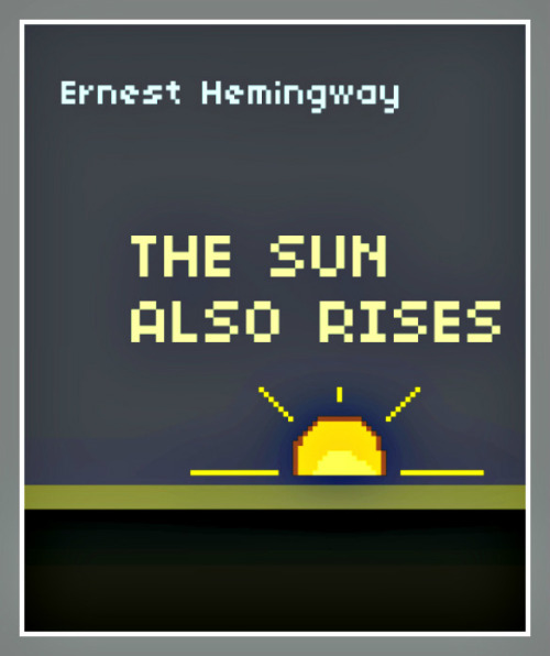 8-Bit Versions of Classic Novel Covers (via @flavorpill)
