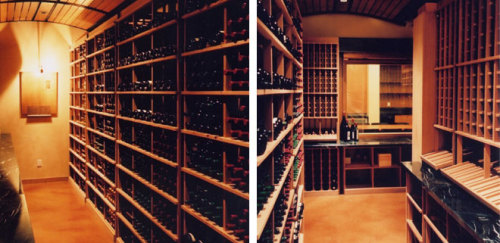The University of British Columbia's Wine Library.