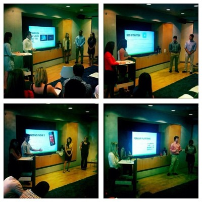 The #MRYintern Project presentations are complete! Extremely impressive work across the board. (Taken with Instagram)
