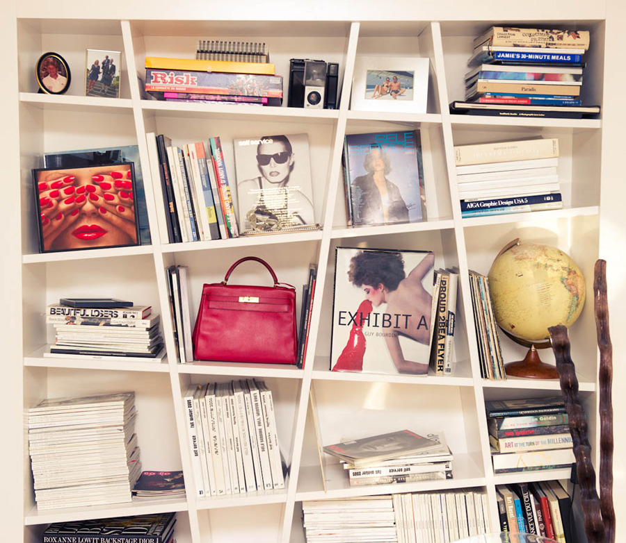 wish i could do this bookcase in my house…hmmmm