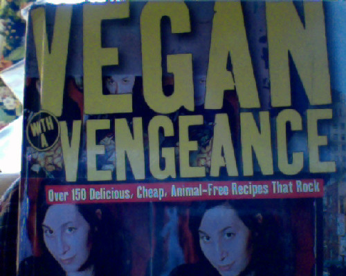 "My dad upon seeing this book: ""Why are vegans so militant?"""