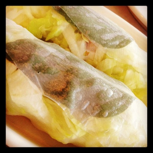 Fresh Rolls #CLEfood (Taken with Instagram at Thai Hut)