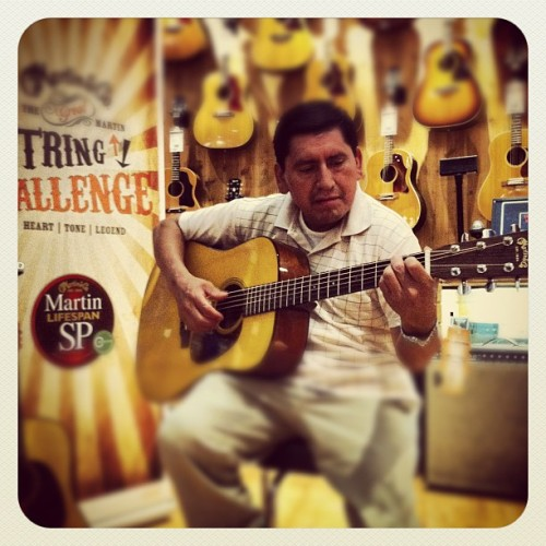 This gentleman nailed it :) #stringchallenge  (Taken with Instagram)