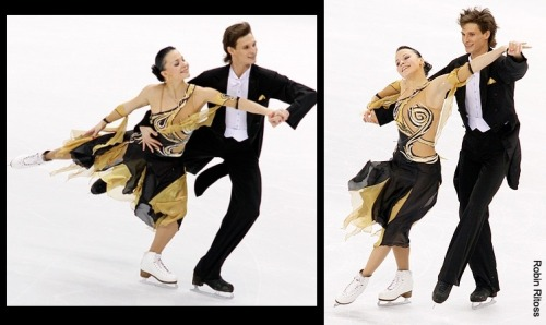 Ekaterina Rubleva and Ivan Shefer performing the Golden Waltz compulsory dance at the 2010 World Championships.  Source: photography.ice-dance.com/2009-2010-season/2010WorldChampionships/Dance/CD/page/2/