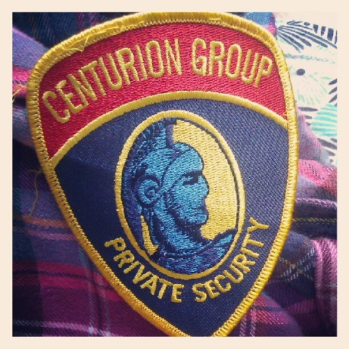 porquepine:  Found a patch for my jacket! Sam says nobody will get the reference. DON'T CARE. #bamf #rorywilliams #dw (Taken with Instagram)  10-years-ago me would totally get this patch