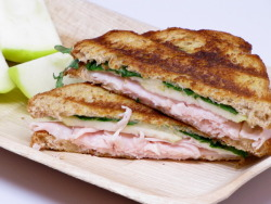 Turkey & brie sandwich.