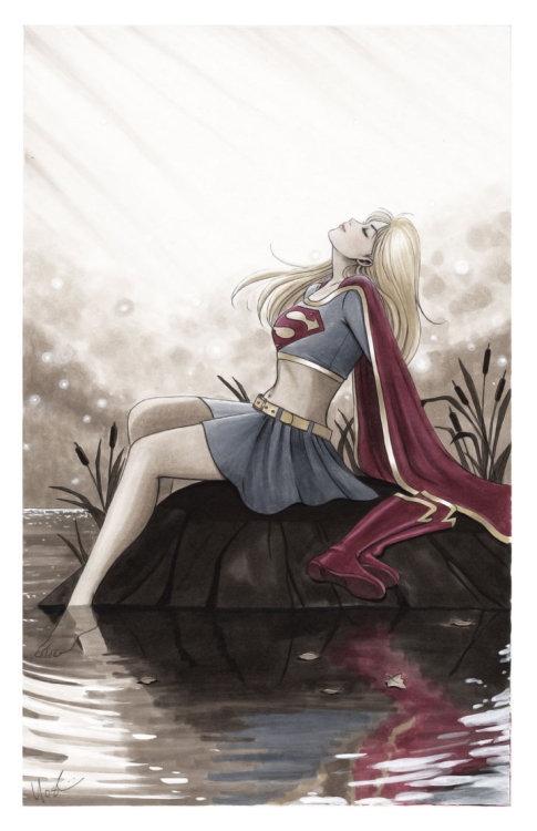 xombiedirge:  Supergirl by Lynne Yoshii / Website / Blog