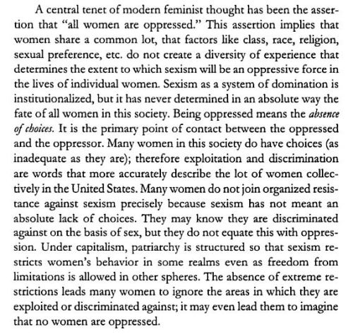 arielnietzsche:  bell hooks, Feminist Theory: From Margin to Center