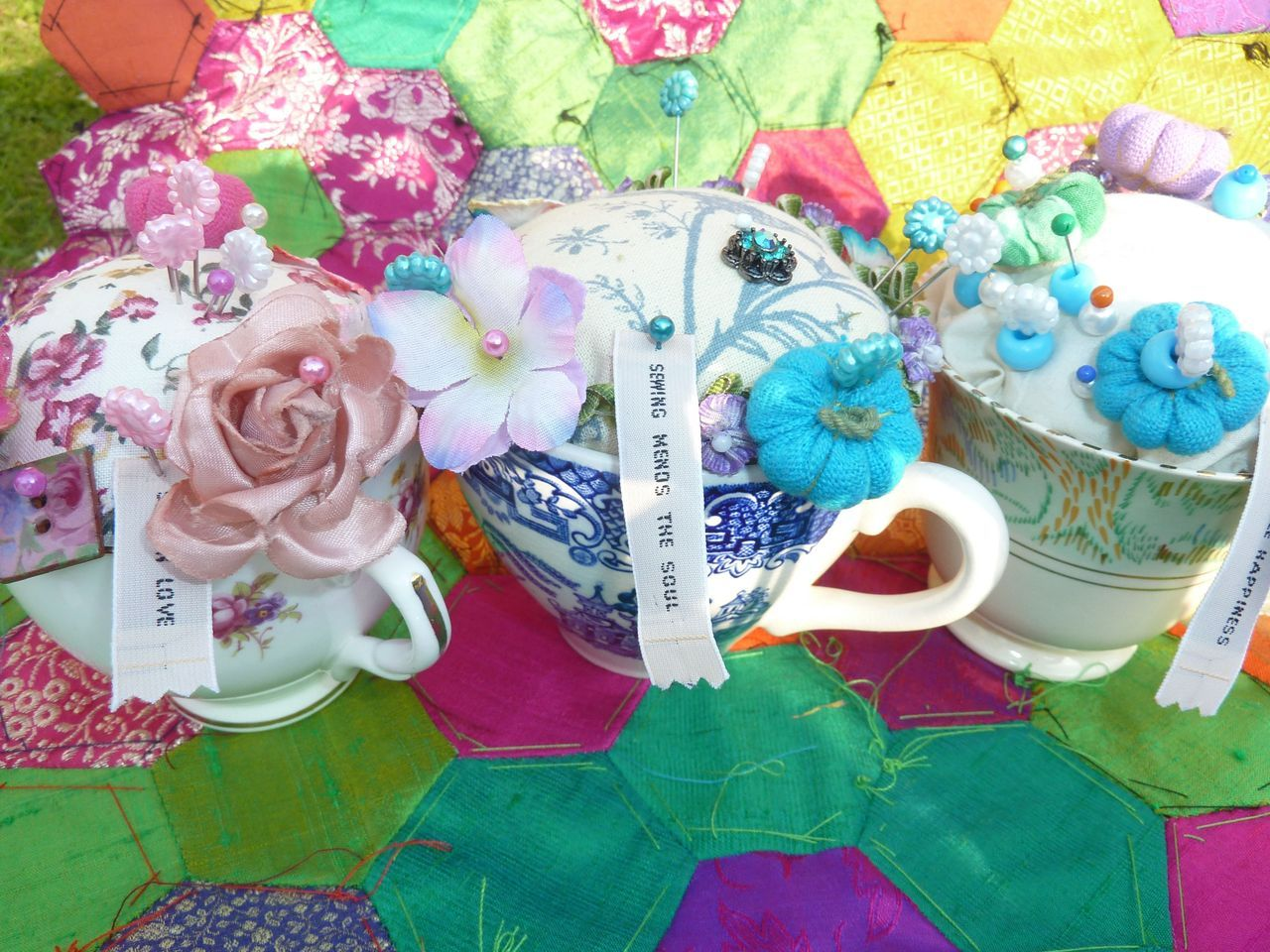 Trio of Teacups.